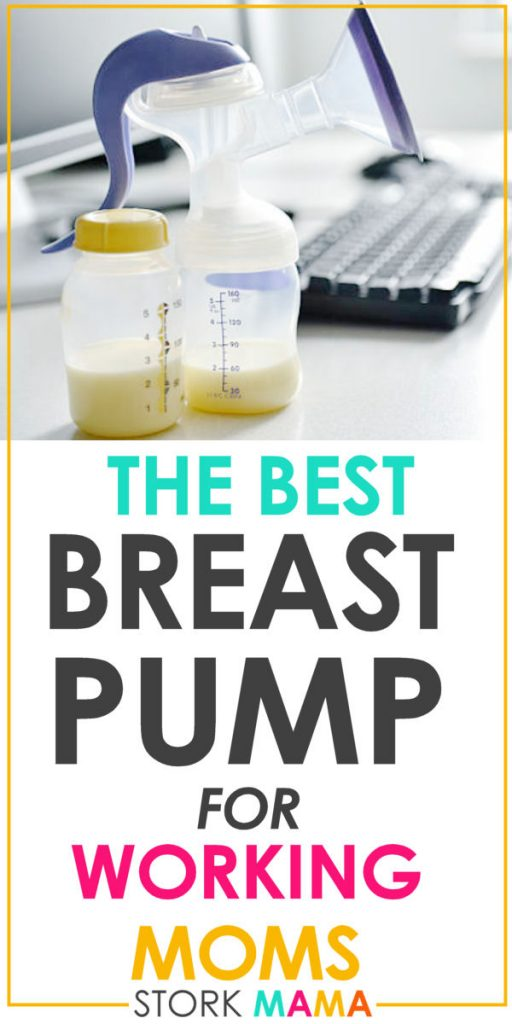 Best Breast Pump For Working Moms | Find the best breast pump for expressing breast milk at work. Choose from our top 5 picks fro manual to hospital grade pumps. Stork Mama