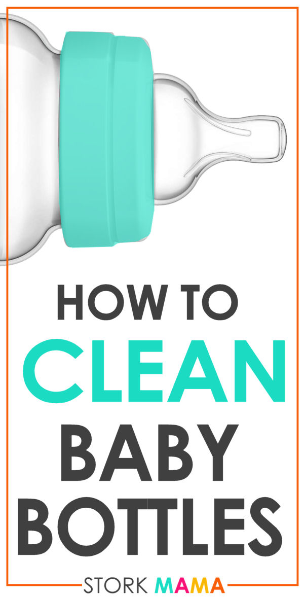 How to Clean Baby Bottles - The 5 Essential Steps   Stork Mama