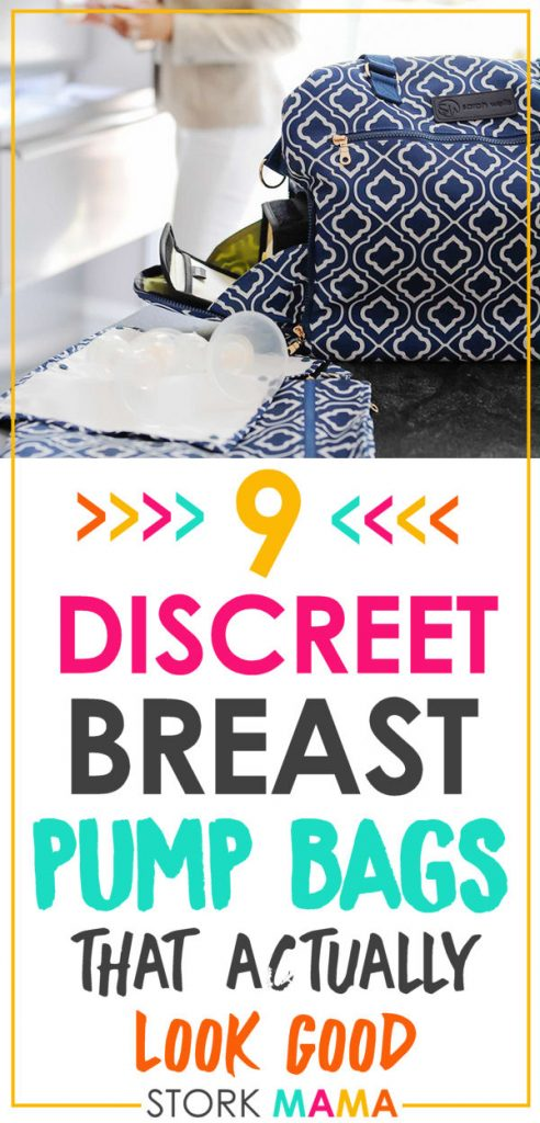 Best Breast Pump Bag | Need to carry you rbreast pump to work? Pick one of these stylish breast pump bags that look discreet. Ideal for working moms. Stork Mama