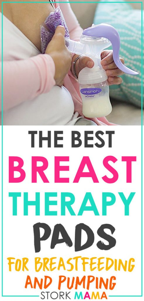 Breast Therapy Pads | Check out Stork Mama Reviews of breast therapy relief for breastfeeding moms. Nursing can be hard on your breasts as a new mom. Find relief from these soothing pads. Stork Mama