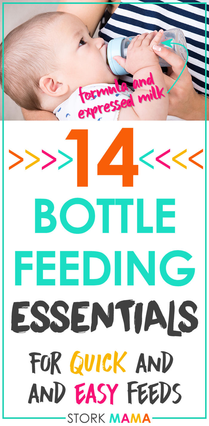 Bottle Feeding Essentials for Formula and Expressed Milk