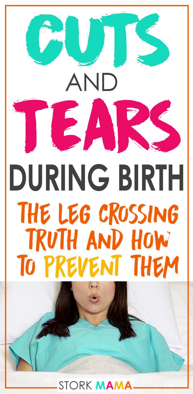 Tear near the clitoris