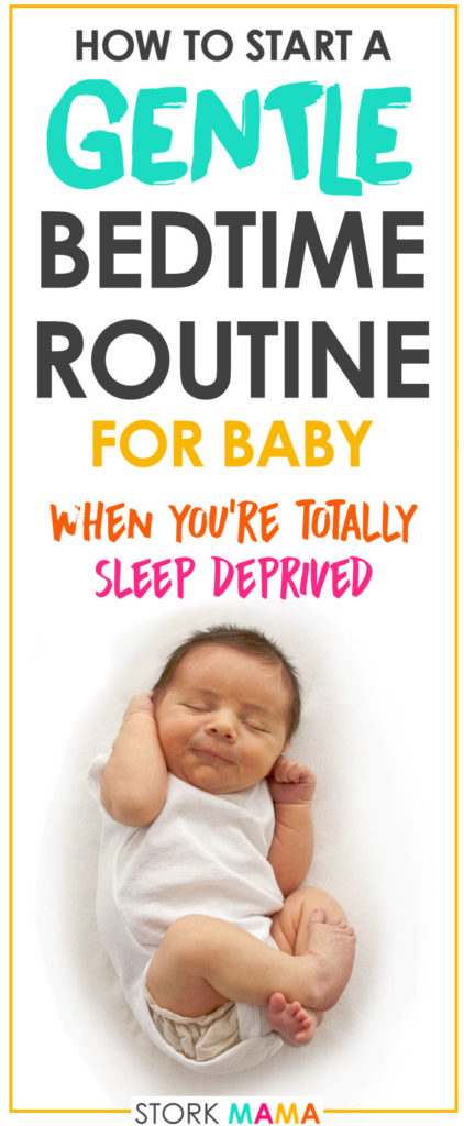 Are you a sleep deprived mama desperate for some more sleep? Check out our tips to getting your baby to sleep. We'll show you how to start a bedtime routine to help your baby sleep better and longer. Start a Gentle Bedtime Routine for Baby | Stork Mama
