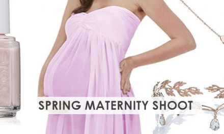5 Spring Maternity Photo Shoot Outfits