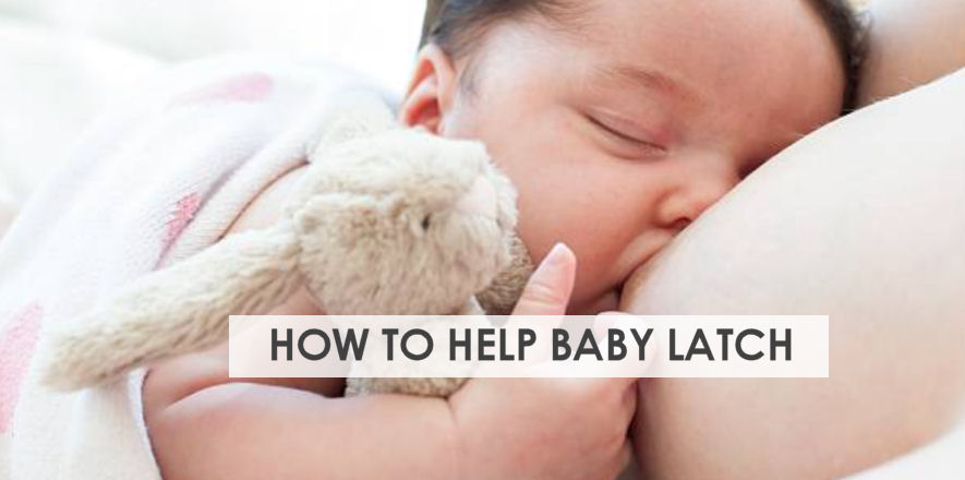 The Secret To A Good Breastfeeding Latch