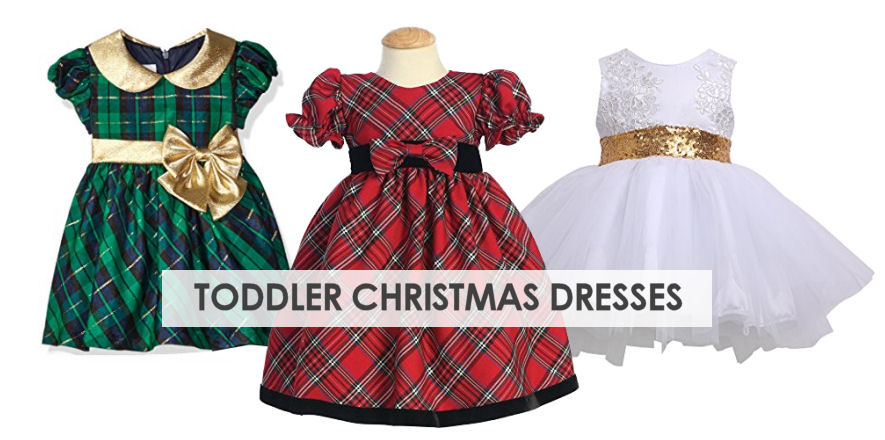 10 Adorable Toddler Christmas Dresses For the Holidays