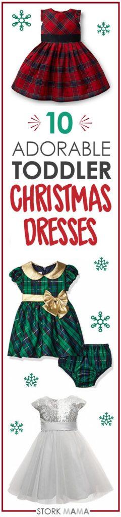 Toddler Christmas dresses for holiday season