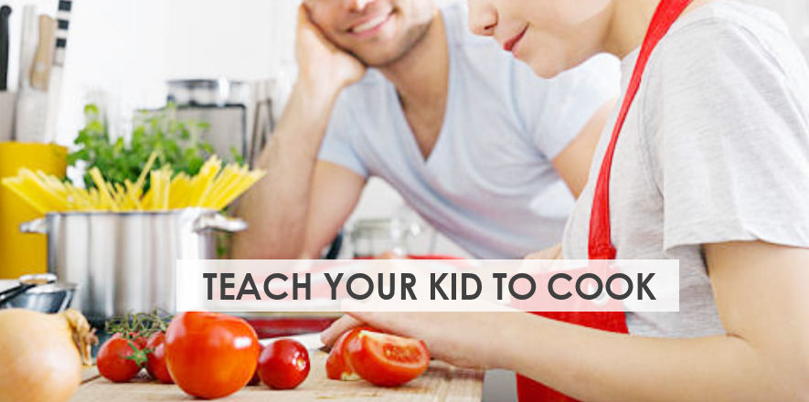 Teach Your Kids How To Cook Safely